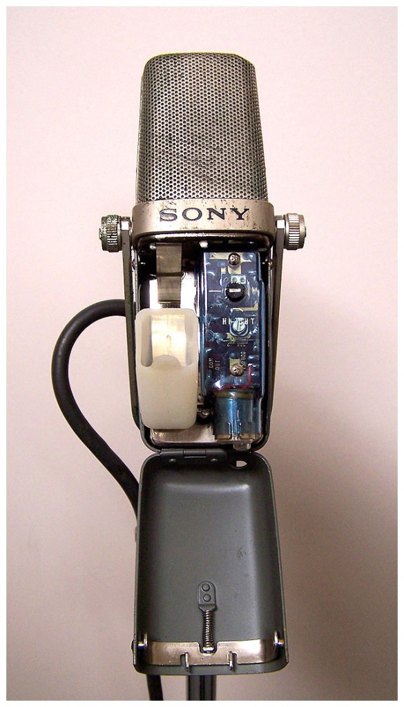 Sony C-37-FET - internal view.