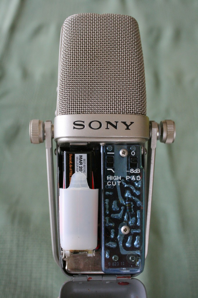 Sony C-38A - internal view.